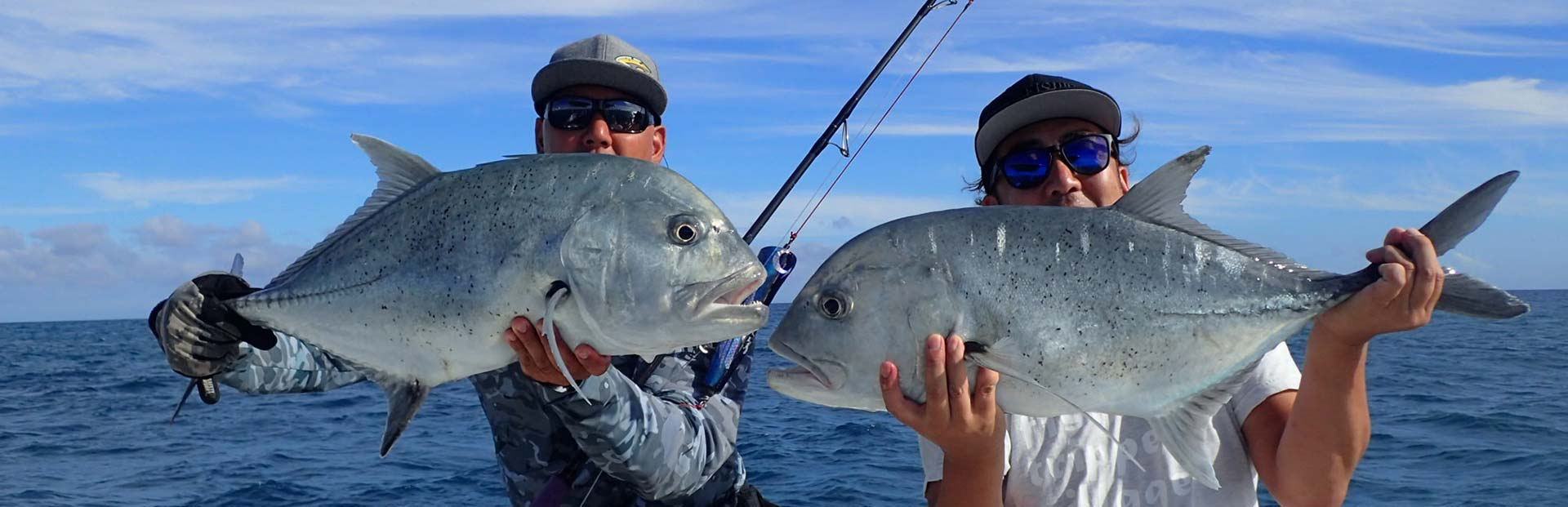 Oahu GT Popping and Jigging Trips